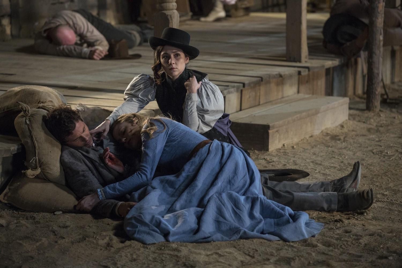 Elsie William Dolores Westworld Episode 1 The Original