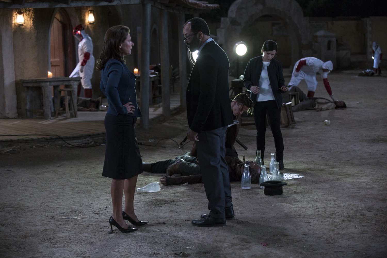 Theresa Bernard cleanup Westworld Episode 1 The Original