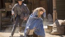 Dolores Teddy shootout Westworld Episode 1 The Original
