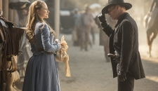 Dolores meets Man in Black Westworld Episode 1 The Original