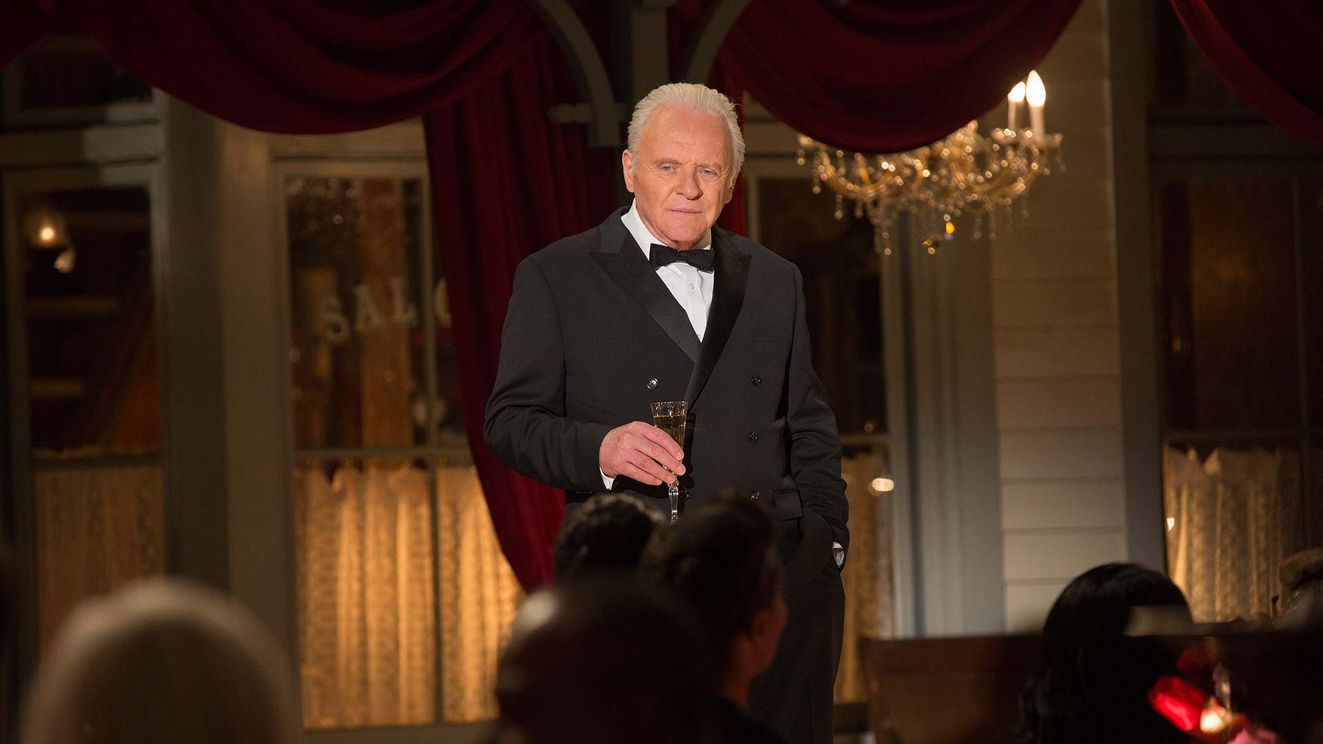 Anthony Hopkins as Dr. Robert Ford Westworld The Bicameral Mind episode 110