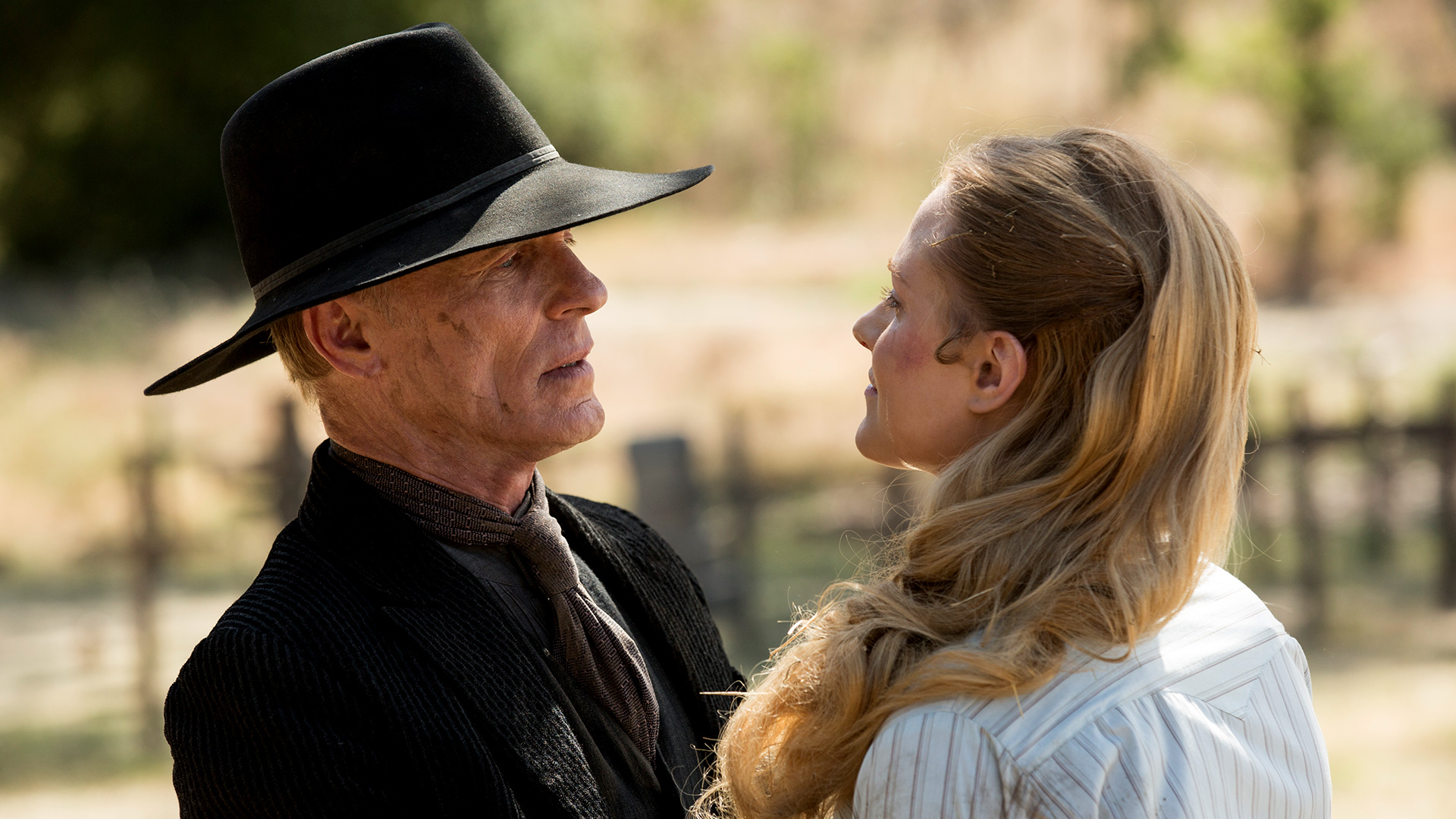 Ed Harris Man in Black Evan Rachel Wood Dolores Westworld The Bicameral Mind episode 110