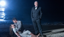 Evan Rachel Wood as Dolores James Marsden as Teddy Anthony Hopkins as Dr Robert Ford Westworld The Bicameral Mind episode 110