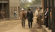 William Logan walking Chestnut Episode 2 Westworld