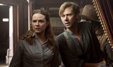 Jimmi Simpson-as William and Evan Rachel Wood as Dolores Abernathy in Westworld episode 107