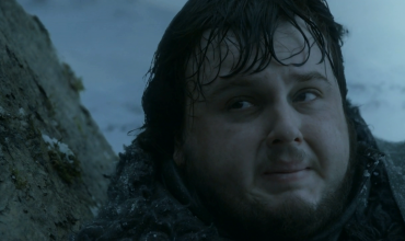 Samwell Tarly crying in HBO's Game of Thrones