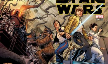 New Star Wars monthly comic book series issue #1 cover