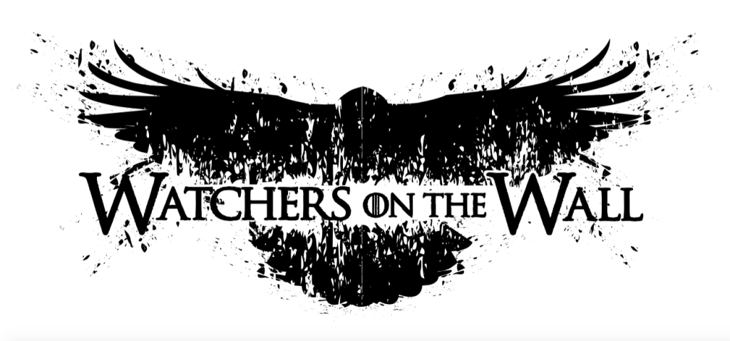 Watchers on the Wall t-shirt design