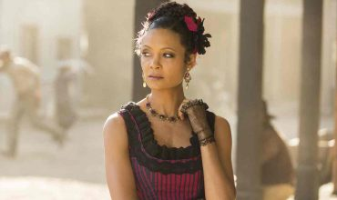 Thandie Newton as Maeve Millay in HBO's Westworld