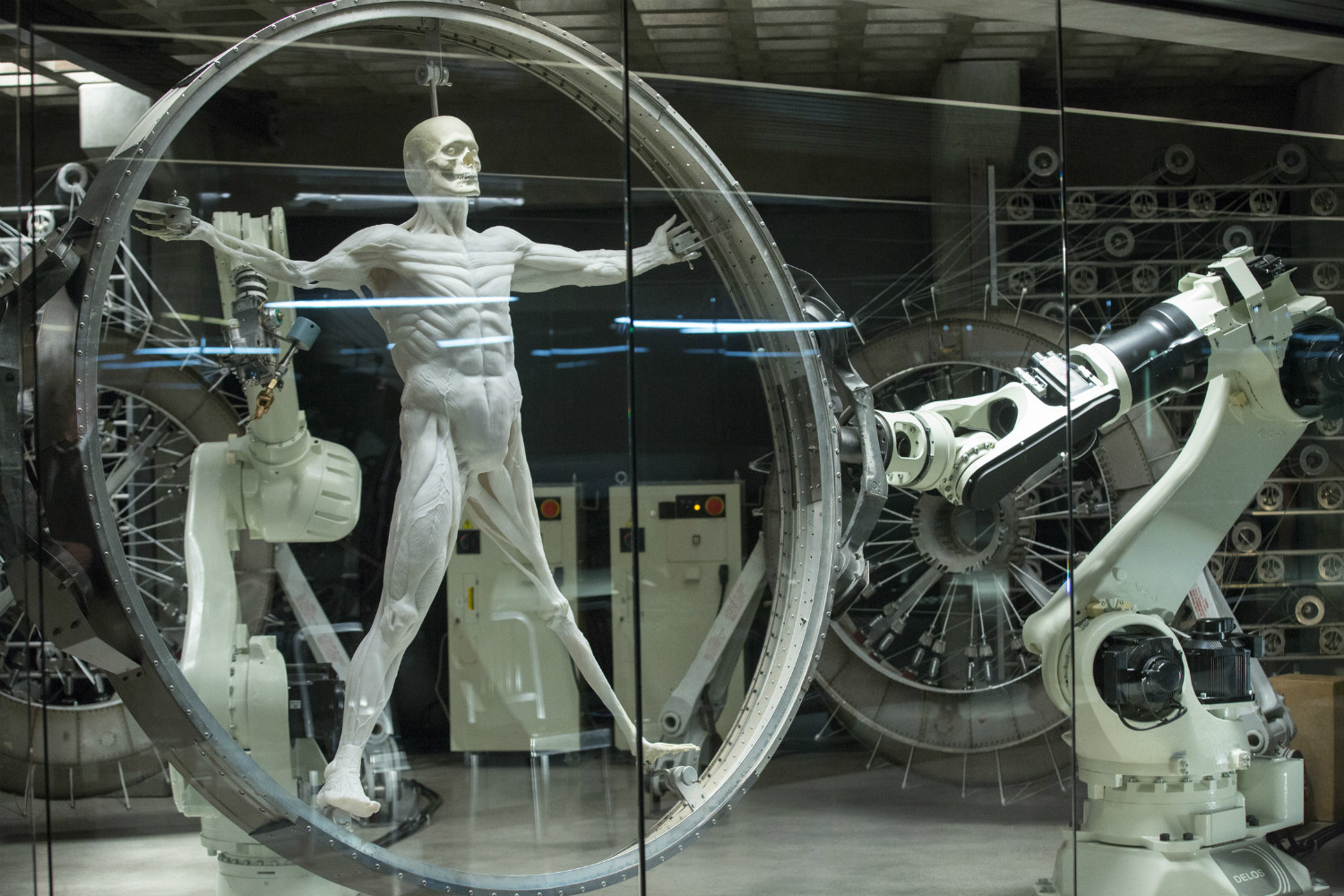 Building the hosts in HBO's Westworld