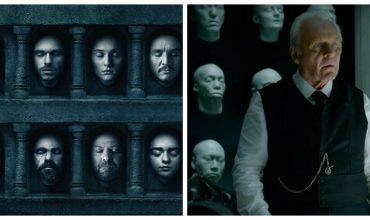 Game of Thrones/Westworld faces collage