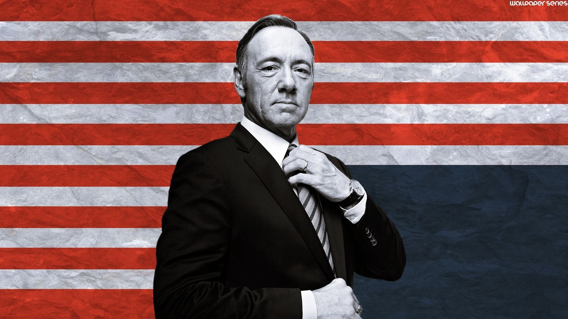Kevin Spacey as Frank Underwood in Netflix's House of Cards