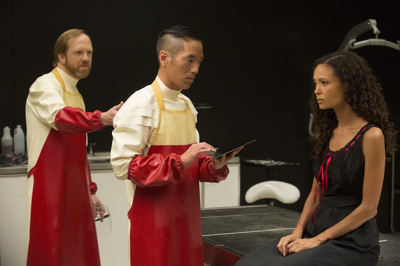 Leonardo Nam as Felix Lutz in HBO's Westworld