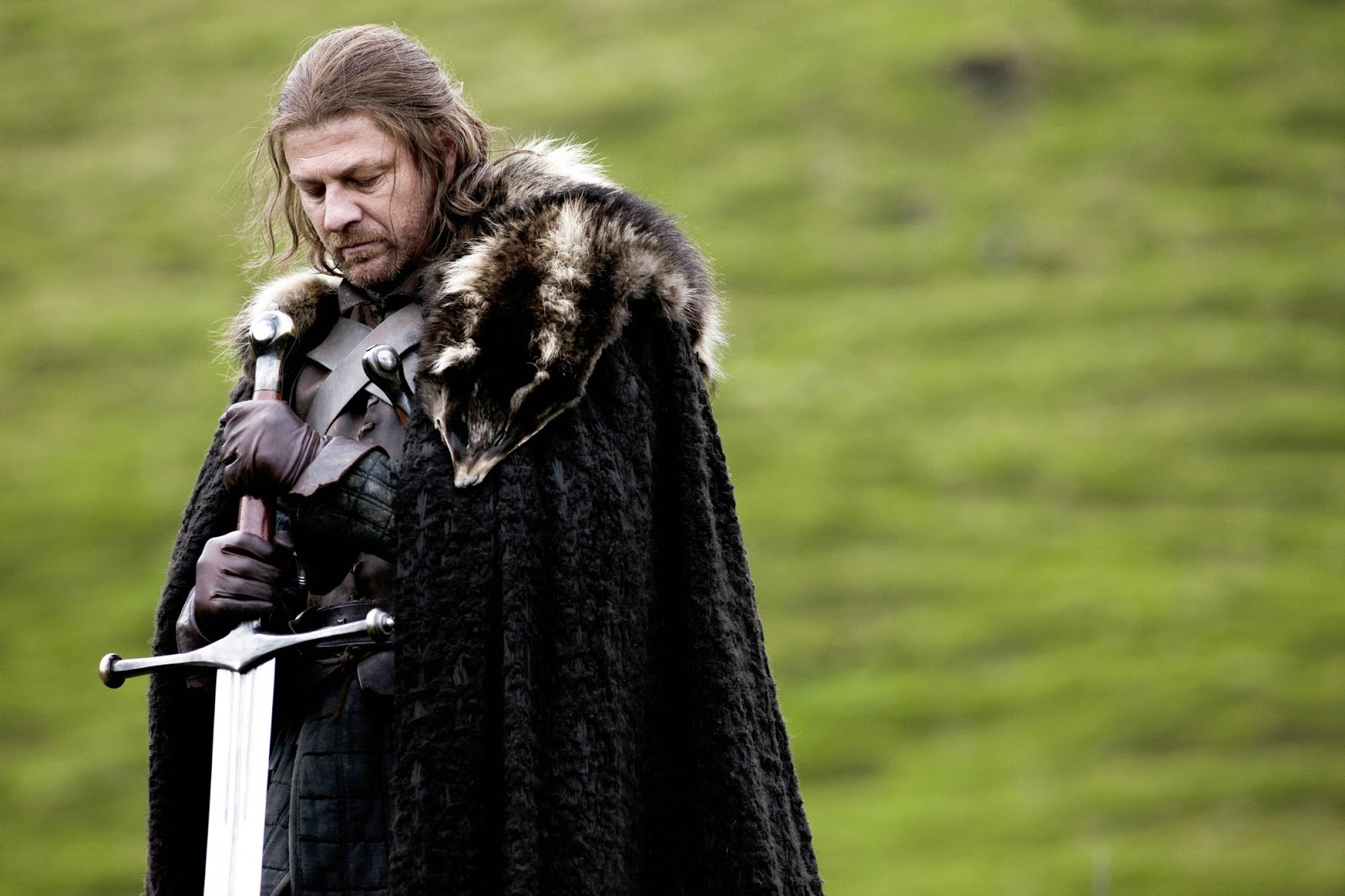 Sean Bean as Lord Eddard Stark in HBO's Game of Thrones