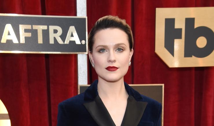 Westworld's Evan Rachel Wood SAG Awards 2017 close up