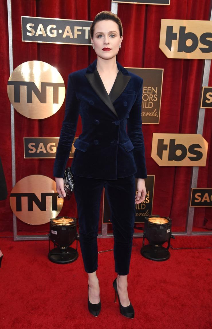 Westworld's Evan Rachel Wood SAG Awards 2017