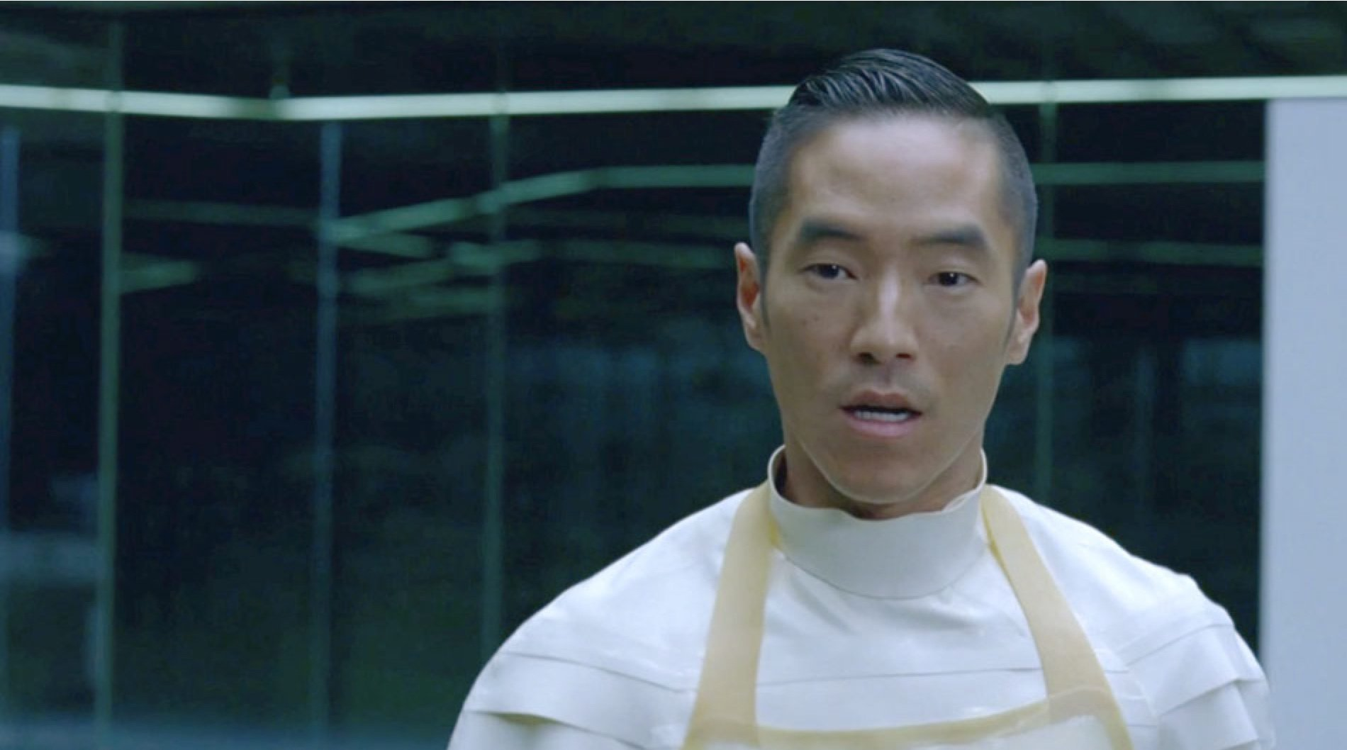 Leonardo Nam as Felix Lutz in HBO's Westworld