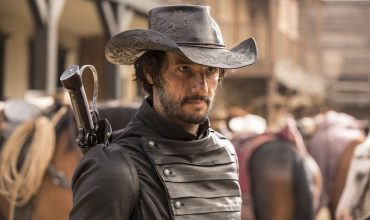 Rodrigo Santoro as Hector Escaton in HBO's Westworld