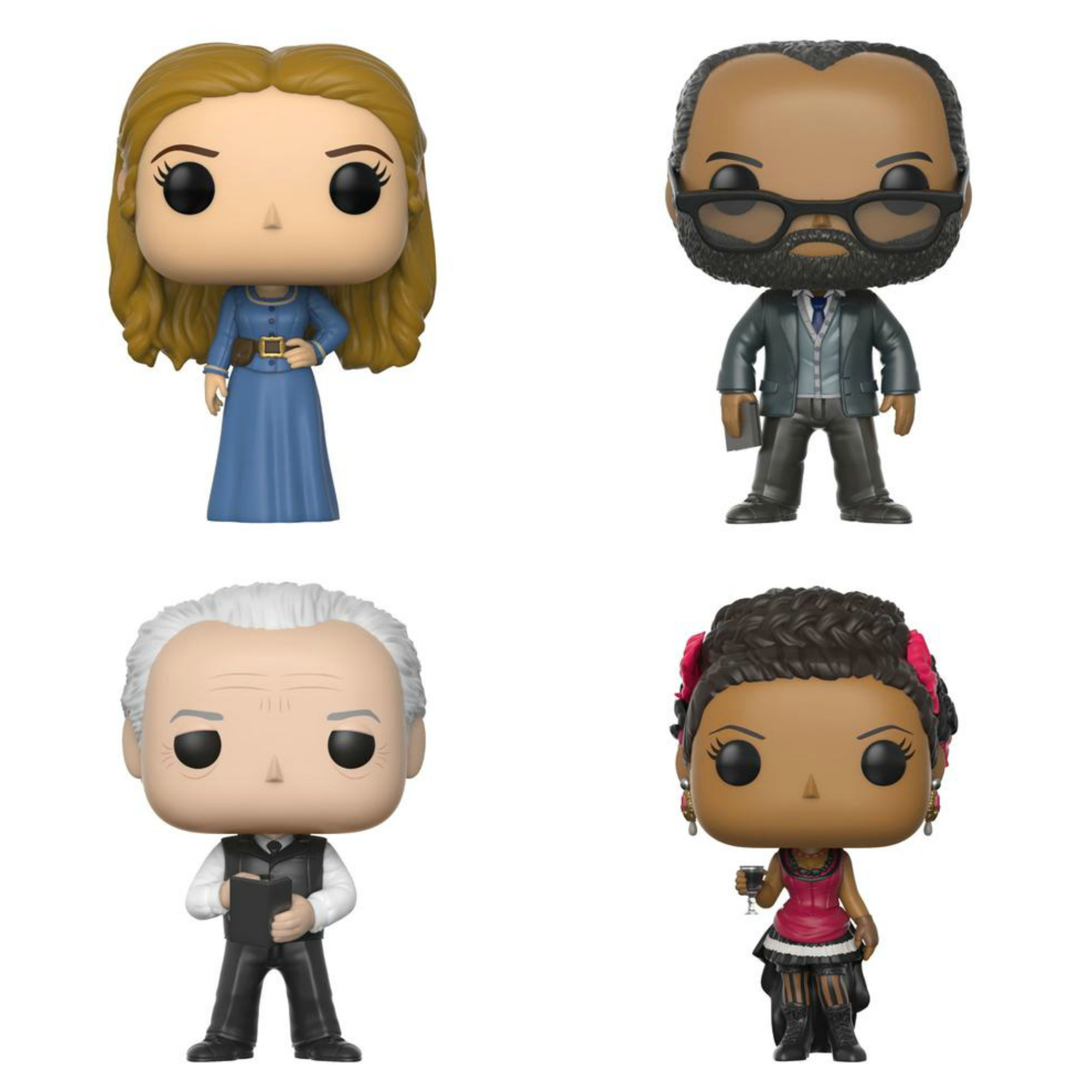 Westworld Funko Pop collage