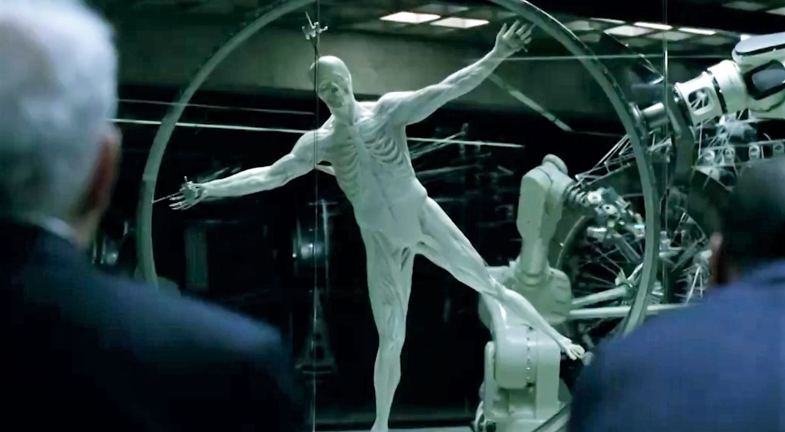 Westworld Host Being Manufactured