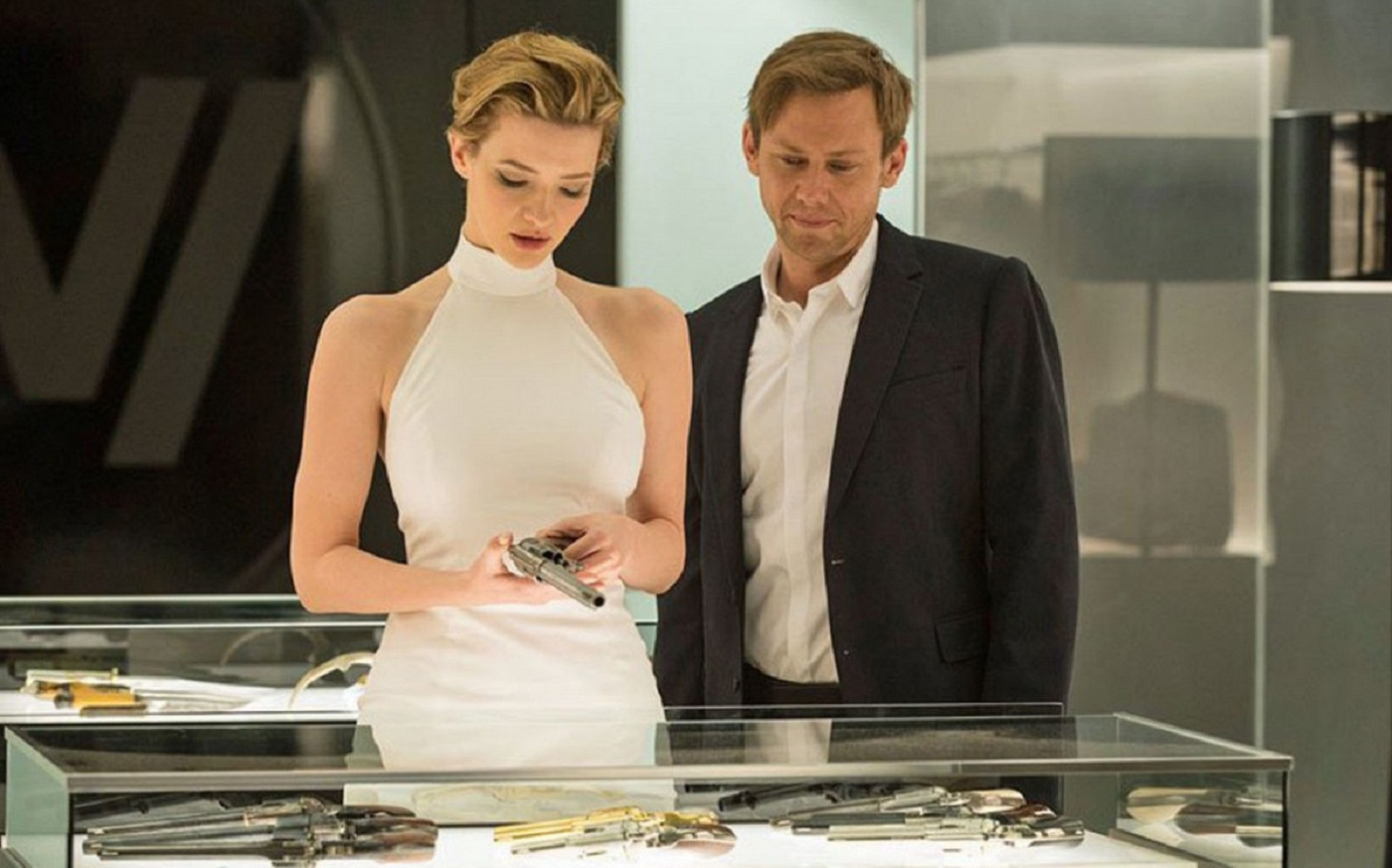 Angela and William on Westworld
