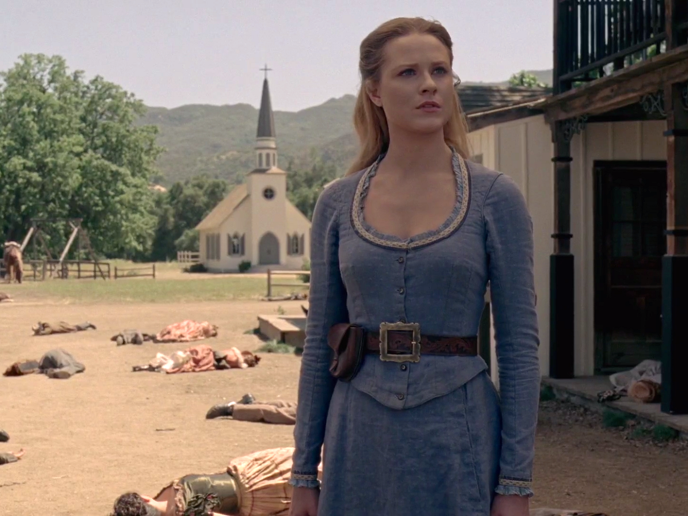 Dolores Abernathy in Westworld