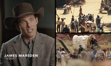 James Marsden as Teddy Flood on Westworld