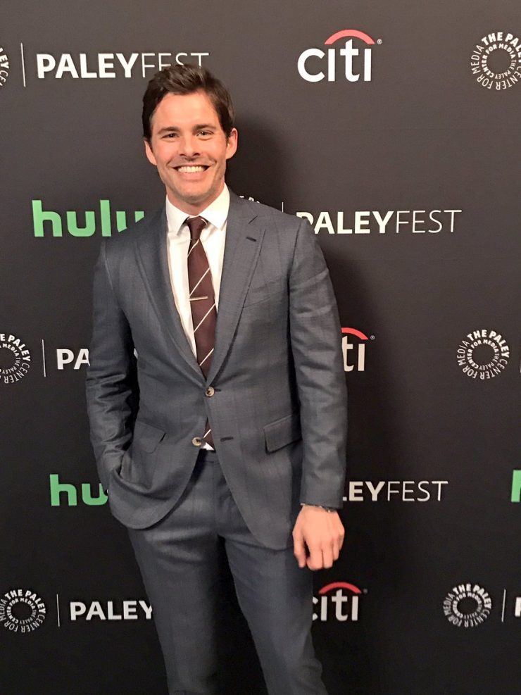 James Marsden arrives at PaleyFest