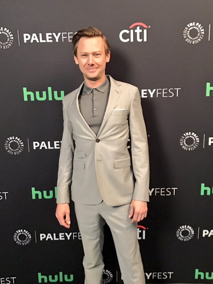 Jimmi Simpson arrives at PaleyFest