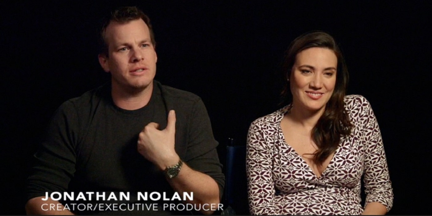 Jonathan Nolan and Lisa Joy Westworld