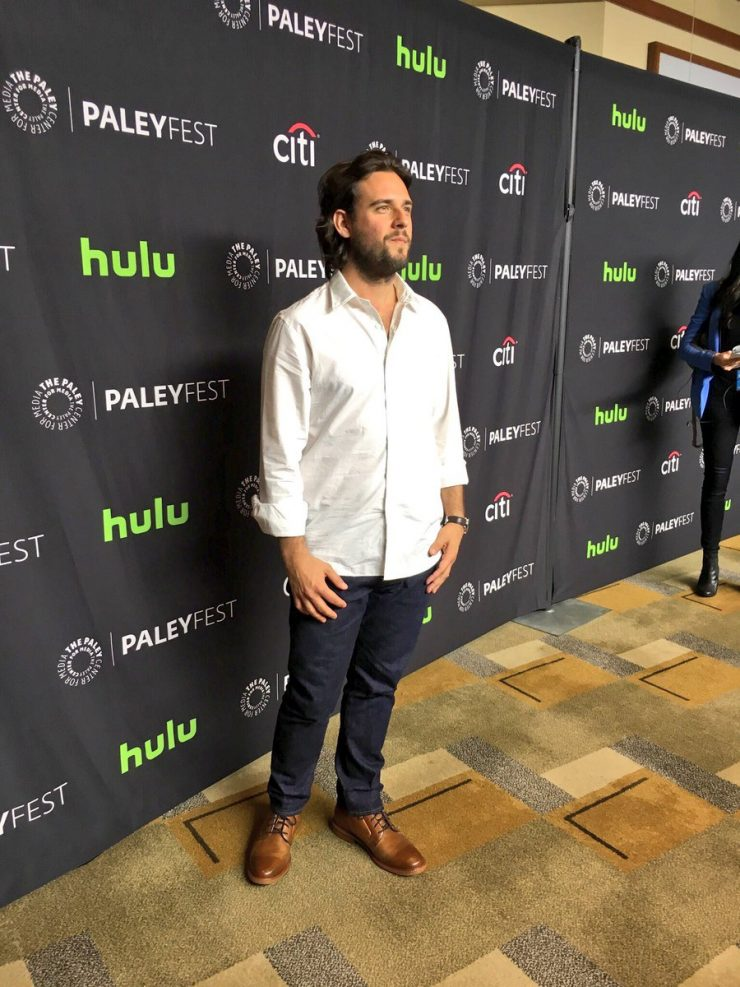 Robert Patino arrives at PaleyFest