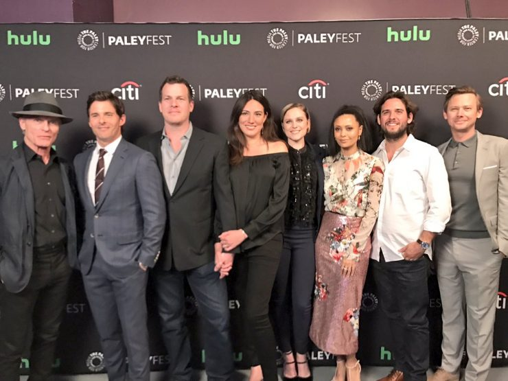 Westworld producers and cast at PaleyFest