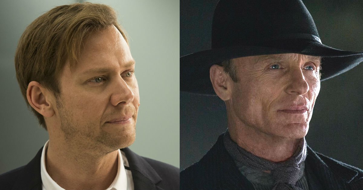 William and Man in Black on Westworld