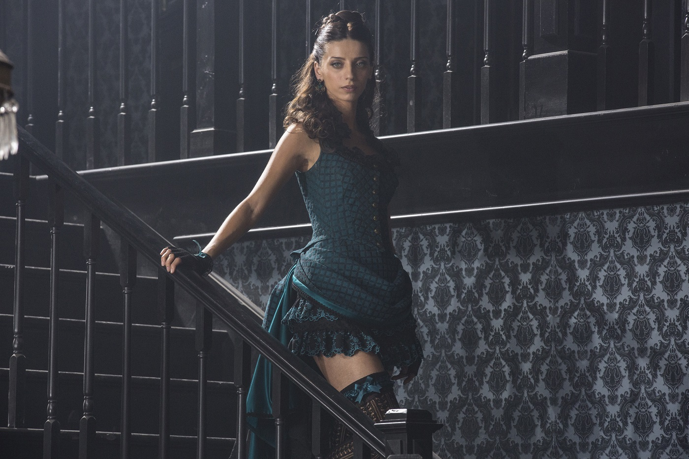Angela Sarafyan as Clementine Pennyfeather on Westworld