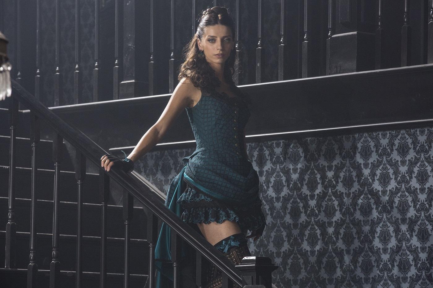 Angela Sarafyan as Clementine Pennyfeather on Westworld