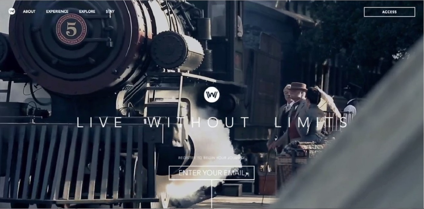 Discover Westworld Website