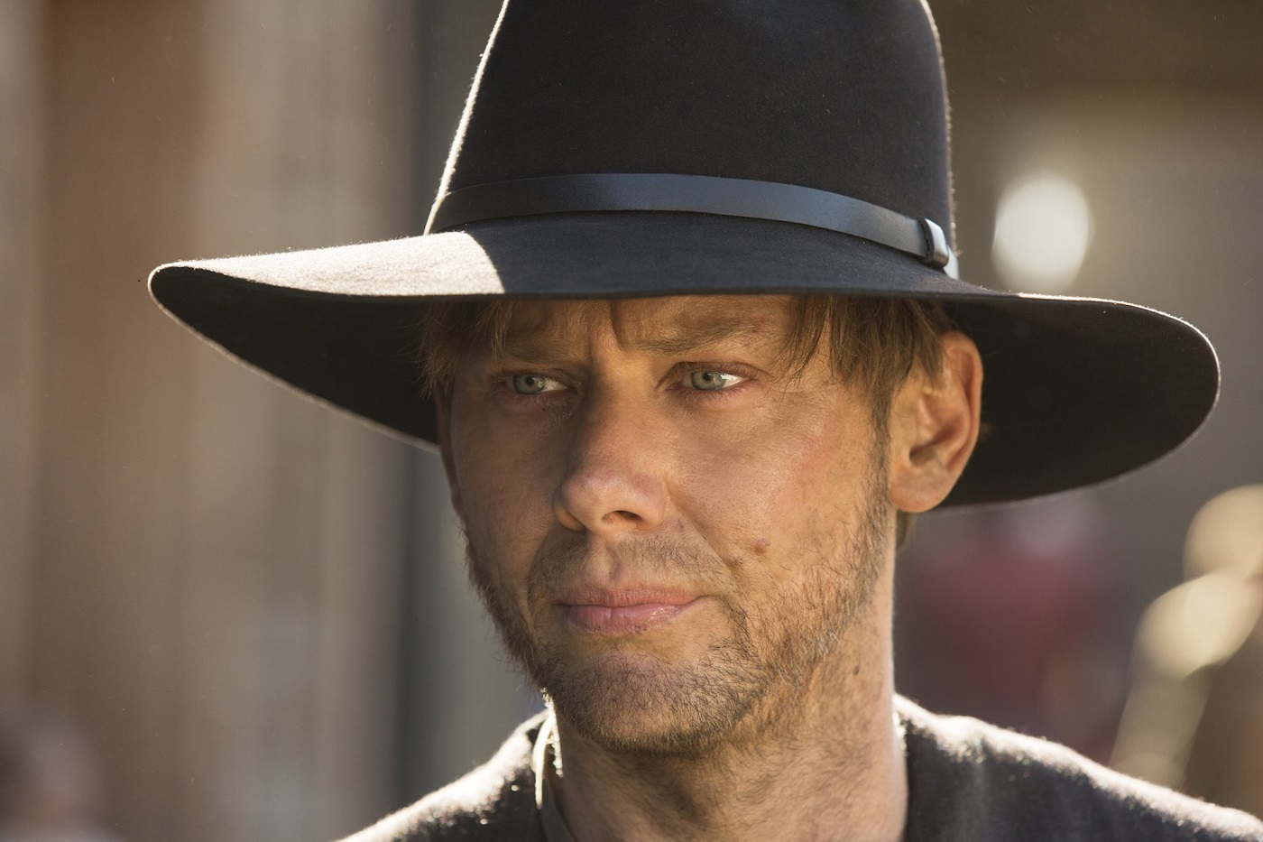 William in Black Hat on Westworld