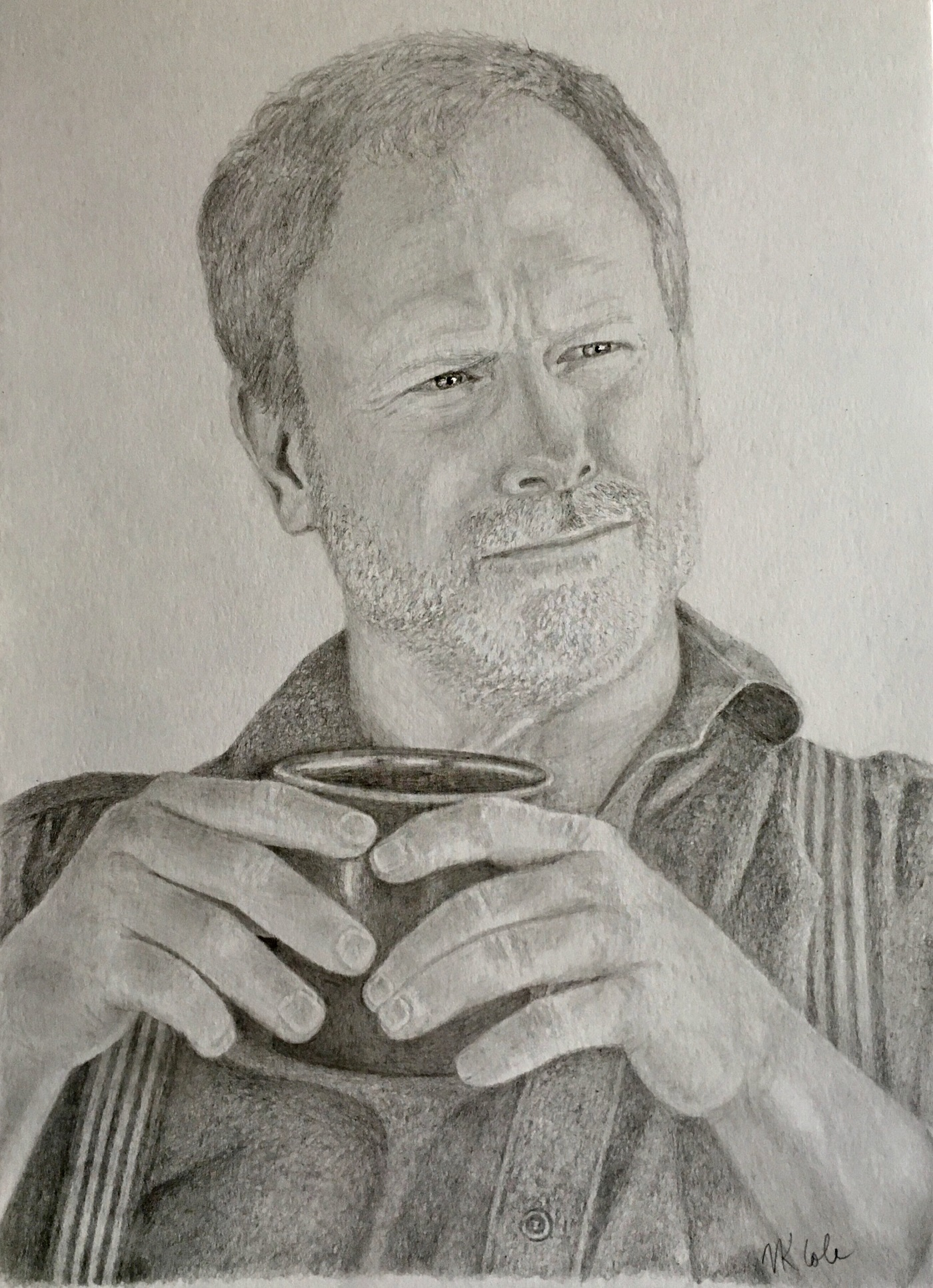 My portrait of Louis Herthum as Peter Abernathy