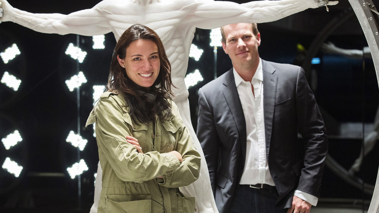Lisa Joy and Jonathan Nolan Westworld