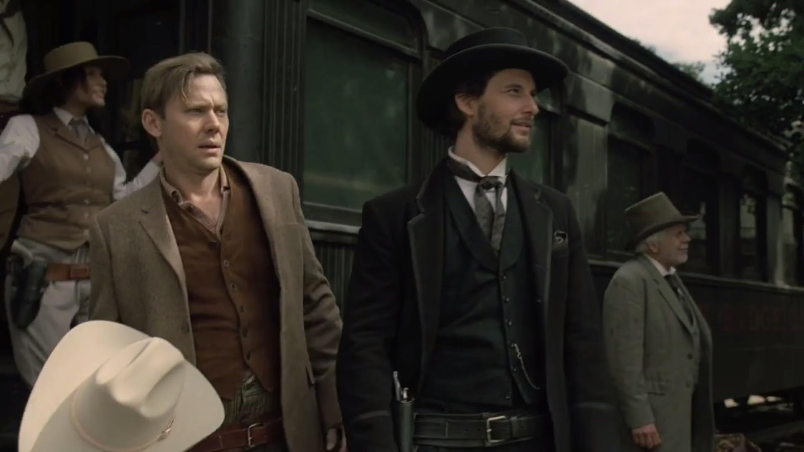 William and Logan on Westworld