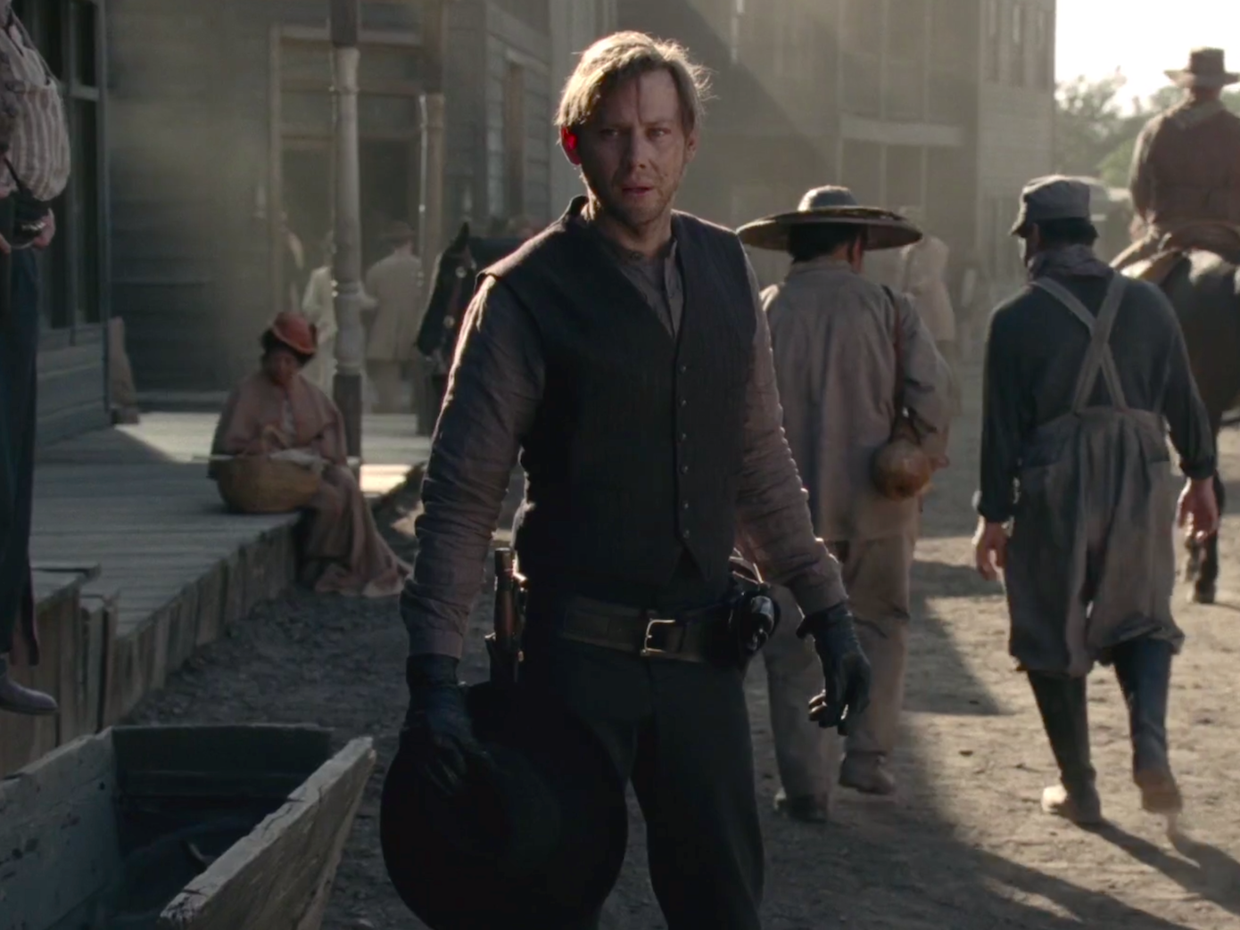 William as Man in Black on Westworld