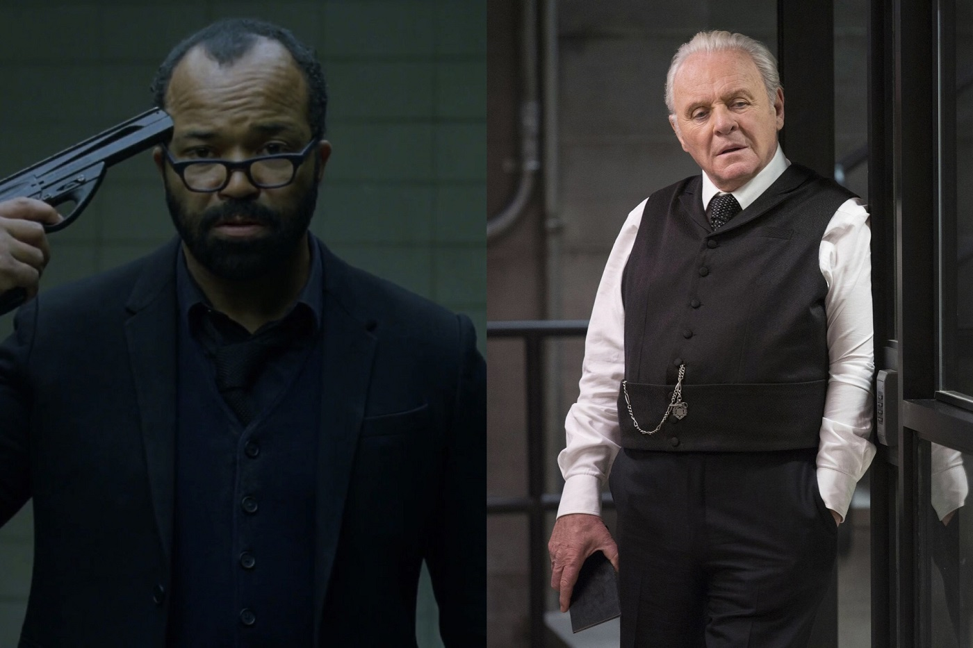 Bernard and Ford on Westworld