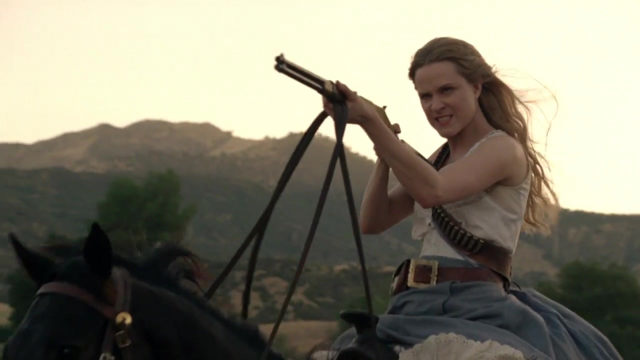 Dolores westworld season 2 trailer hunting
