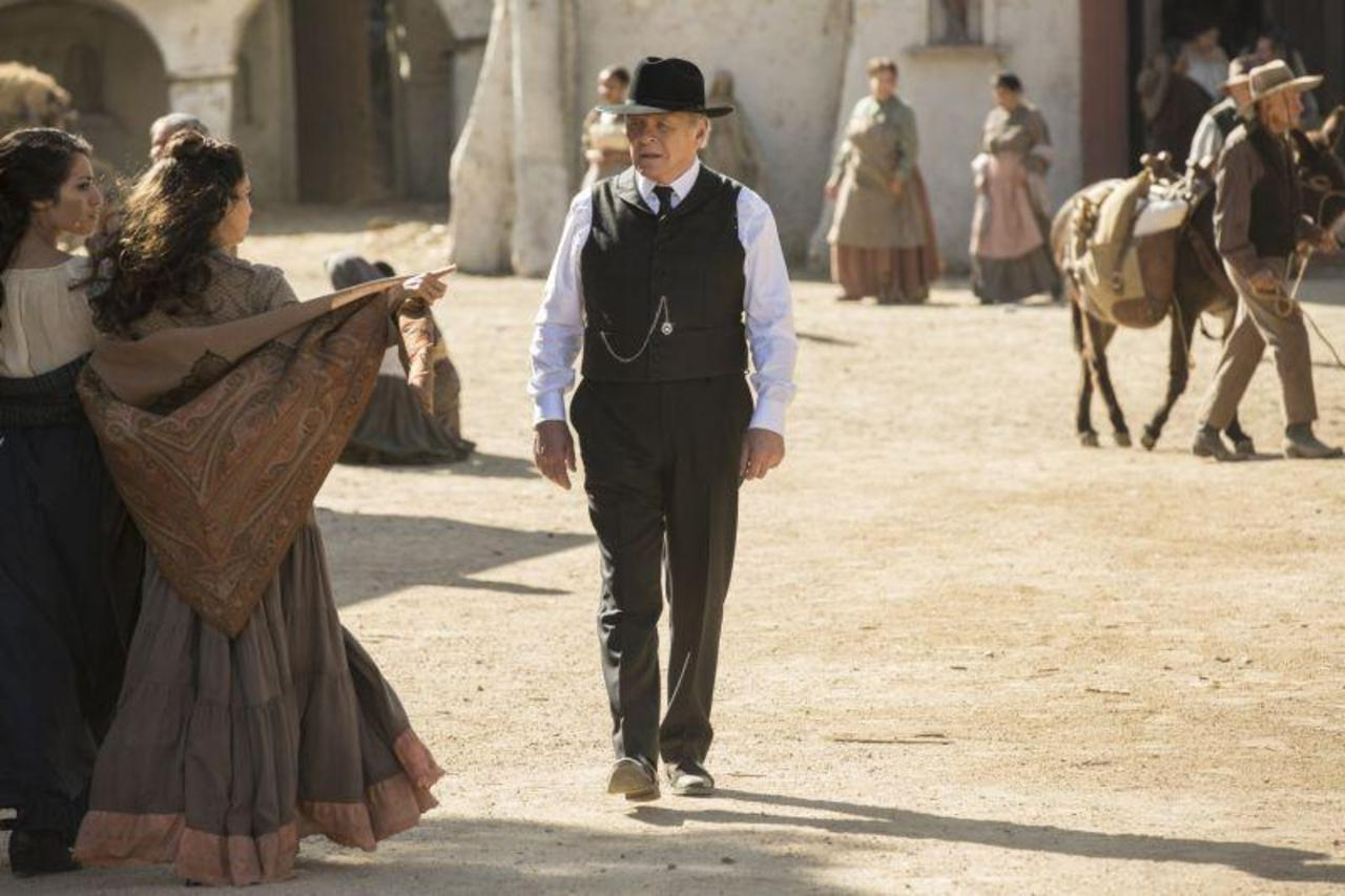 Dr Robert Ford on Westworld