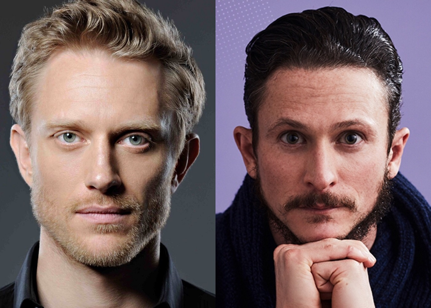Neil Jackson and Jonathan Tucker Westworld