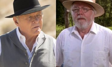 Dr Robert Ford and John Hammond