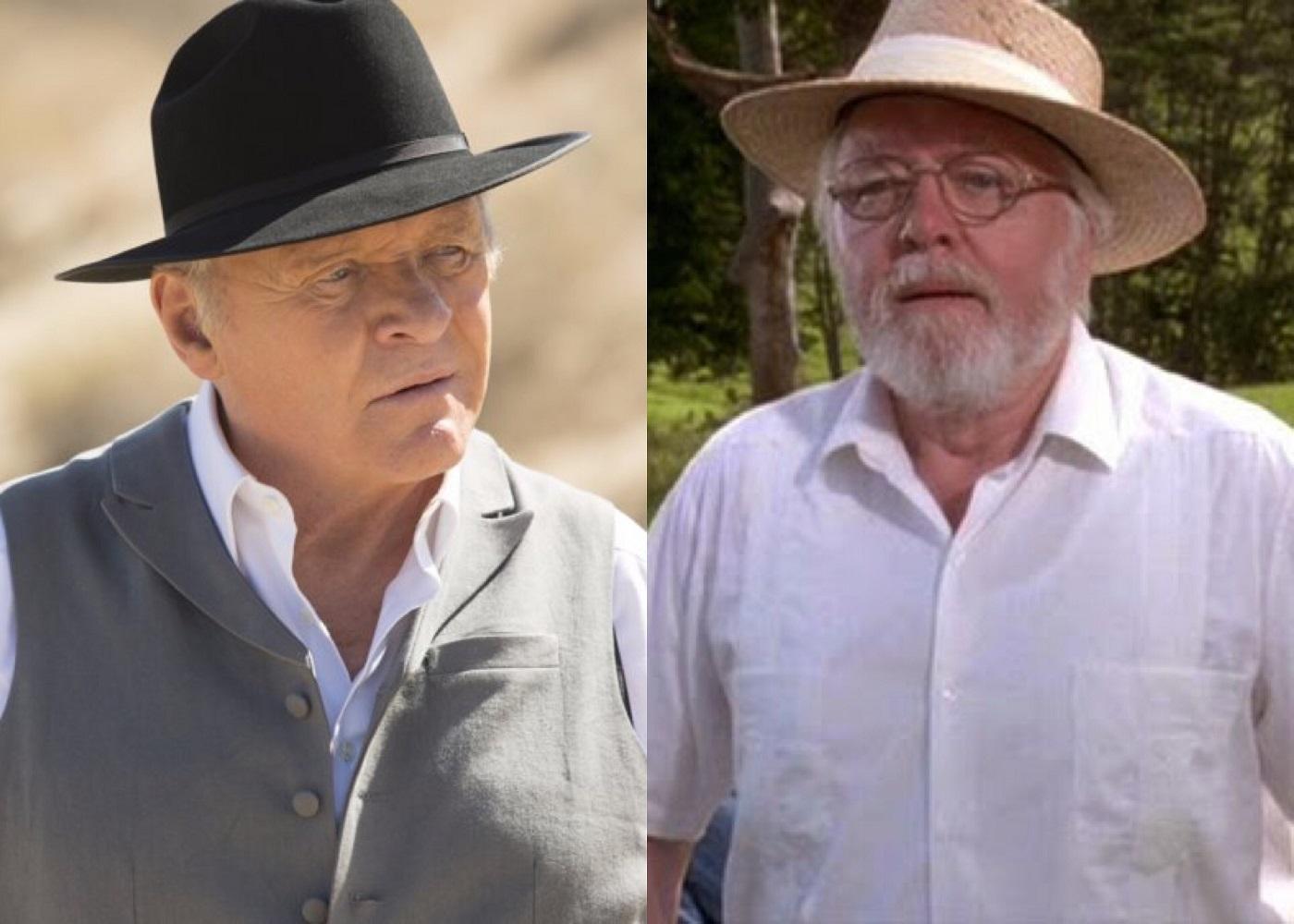 Dr Robert Ford and John Hammond