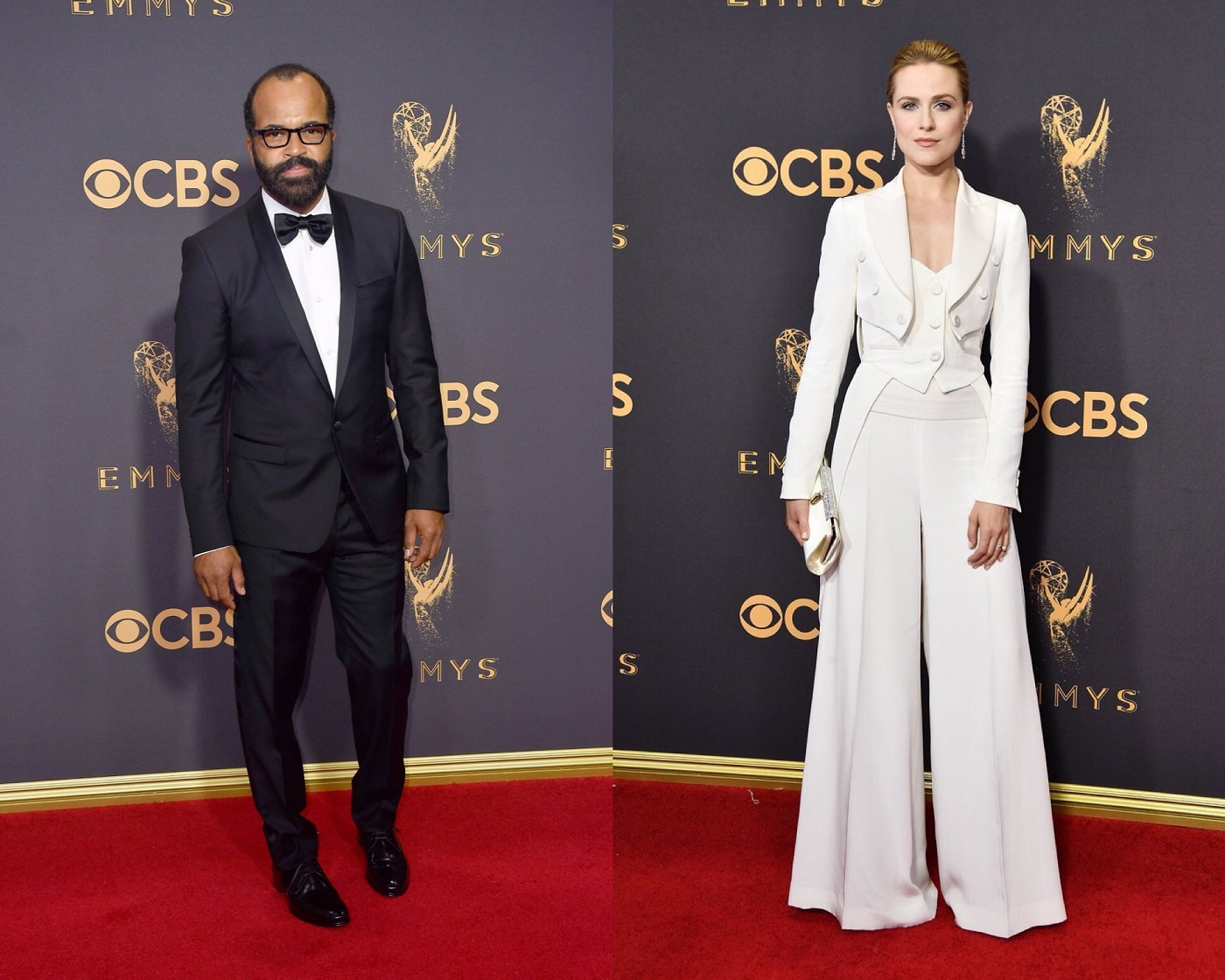 Jeffrey Wright Evan Rachel Wood Emmy Awards