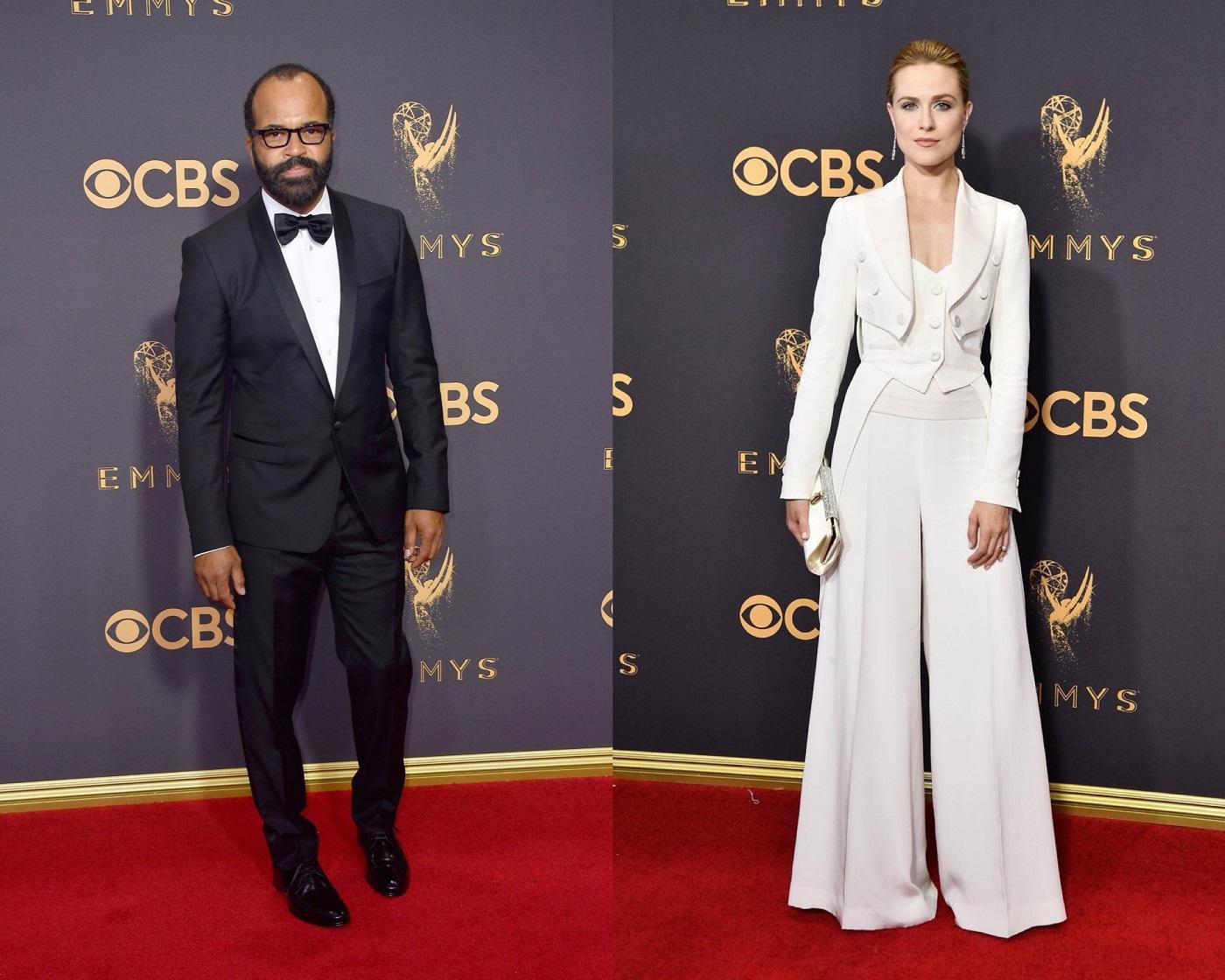 Jeffrey Wright Evan Rachel Wood Emmy Awards