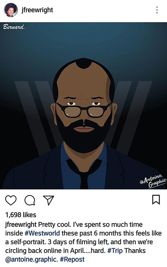 Jeffrey Wright Instagram Westworld
